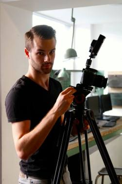Le cameraman Christophe Vanoutryve