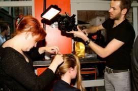 La coiffeuse Laetitia Michalopoulos