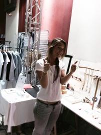 Apolline, la créatrice au Marché des modes le 1er jour