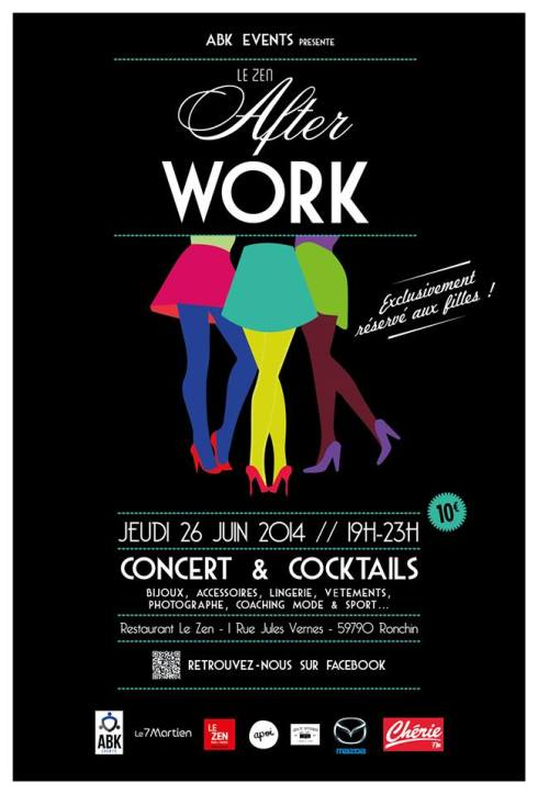 Bijoux apoi affiche after work ABK events